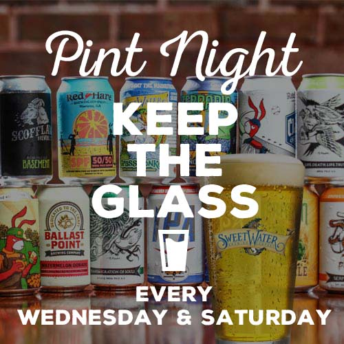 Pint Night - Keep the Glass